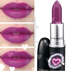 MAC Strong Woman Lippie Discontinued